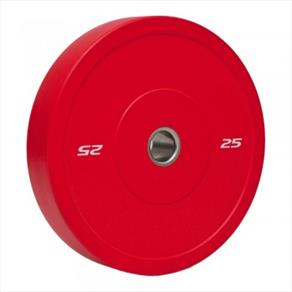 RAZE 25kg 'R-Sport' Solid Rubber Plate - Red