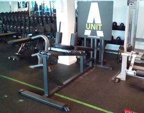 A-Unit Shuttle Leg Press