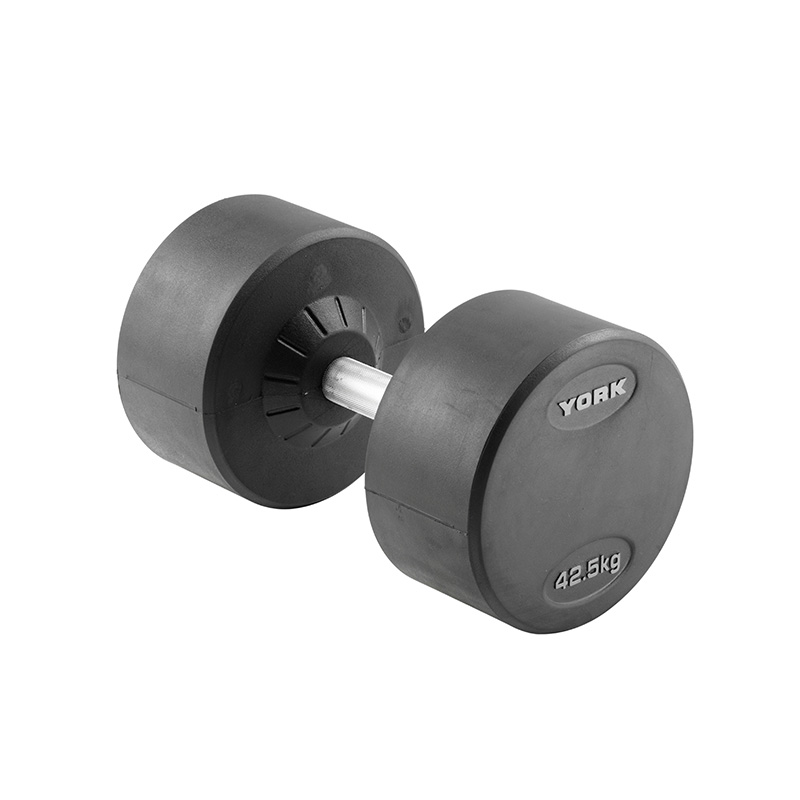 York 1 X 42.5kg Pro-Style Dumbbell