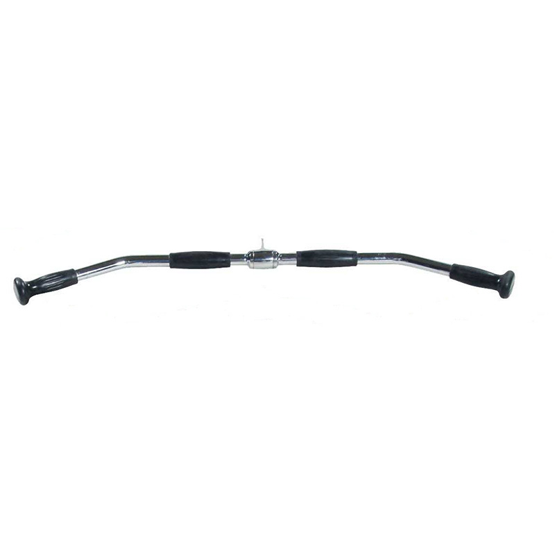 "York STS Hard Chrome Lat Bar Cable Attachment with PU ergo grip (36"")"