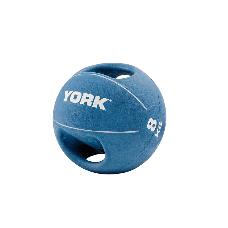York 8kg Medicine Ball with Handles