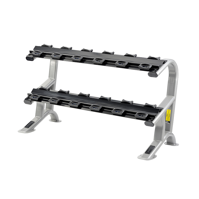 York 2-Tier Dumbbell Saddle Rack (Holds 6 Pairs of York Pro-Style Dumbbells)