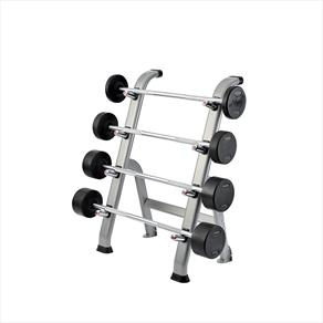 York Pro-Style Barbell Set With Rack 10kg-17.5kg (4 Barbells)