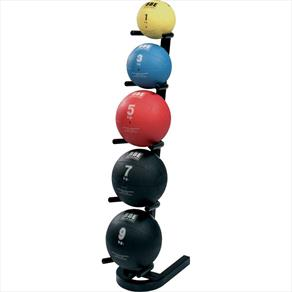 York Medicine Ball Pack (2,4,6,8,10kg Medicine Balls + Vertical Rack)
