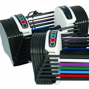 PowerBlock Sport 2.4 Adjustable Dumbbells - 1-11kgs 179.99 GBP