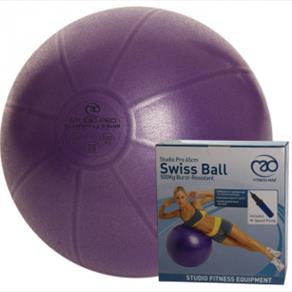 500Kg Swiss Ball & Pump - 65cm Purple 28.99 GBP
