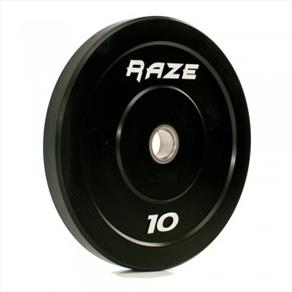 RAZE 10kg 'Black Series' Solid Rubber Plate