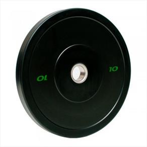 RAZE 10kg 'R-Sport' Solid Rubber Plate - Black *CLICK HERE*