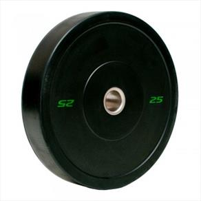 RAZE 25kg 'R-Sport' Solid Rubber Plate - Black *CLICK HERE*