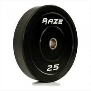 RAZE 25kg 'Black Series' Solid Rubber Plate *CLICK HERE*