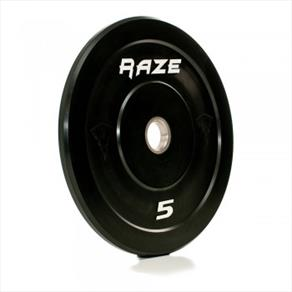 RAZE 5kg 'Black Series' Solid Rubber Plate