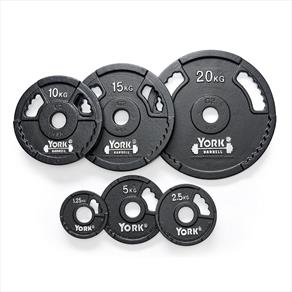 York 1 x 2.5kg Cast Iron Olympic Plates *CLICK HERE*