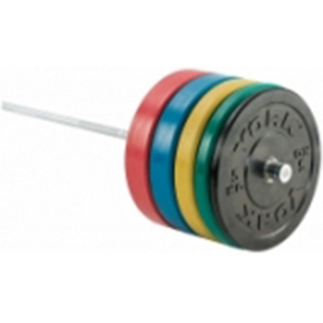 York 170KG Olympic Coloured Rubber Bumper Plate Set *CLICK HERE*