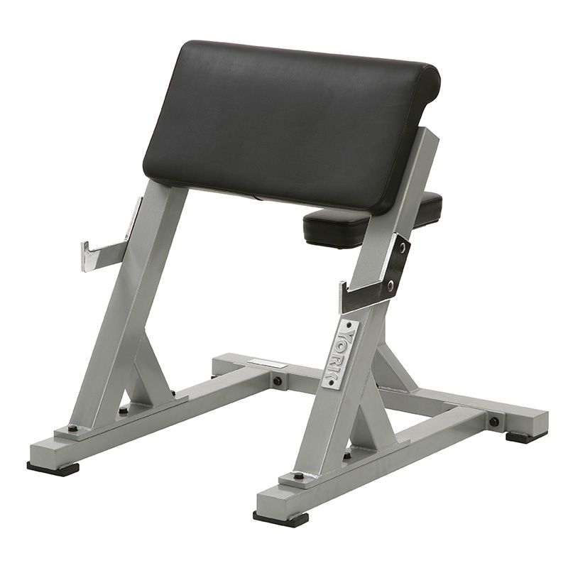 York STS Seated Preacher Curl