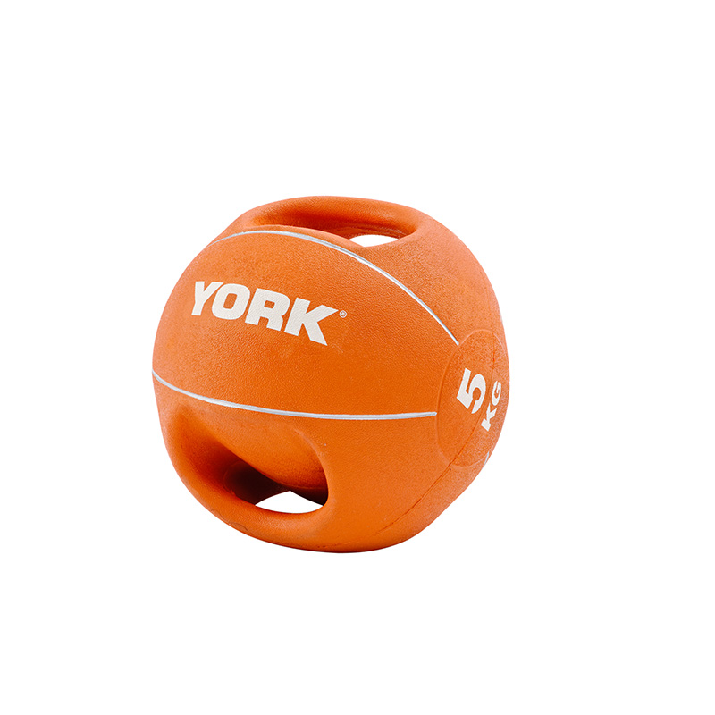 York 5kg Medicine Ball with Handles *CLICK HERE*
