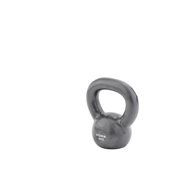 York 4kg Cast Kettlebell (Steel Handle) *CLICK HERE*