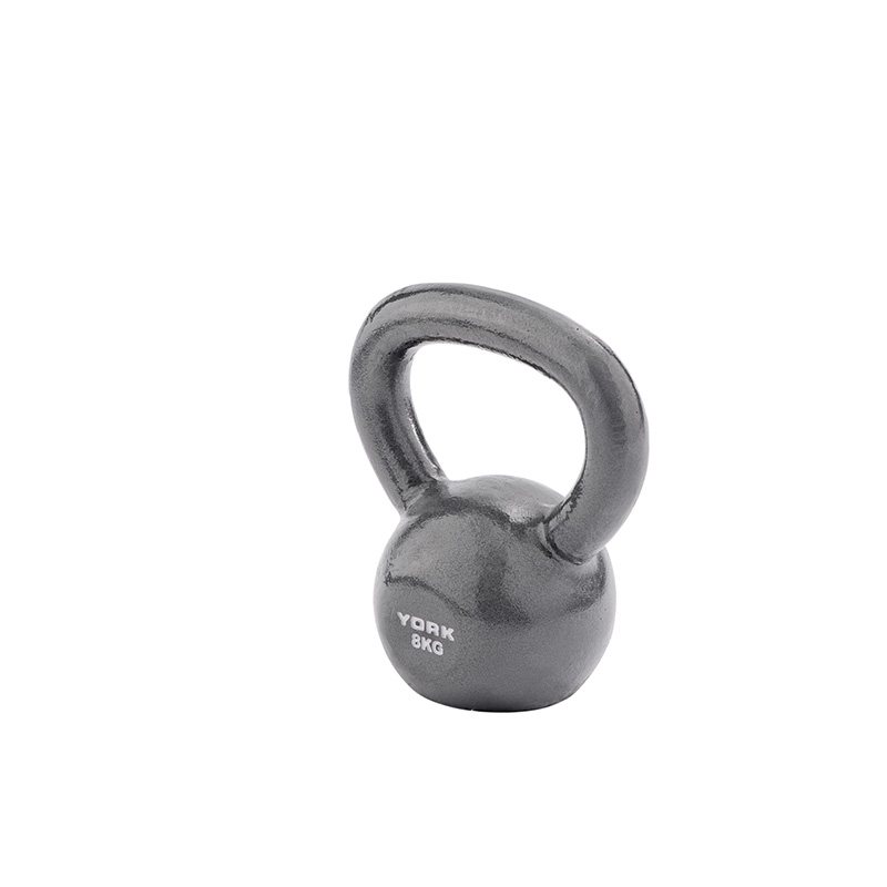 York 8kg Cast Kettlebell (Steel Handle) *CLICK HERE*