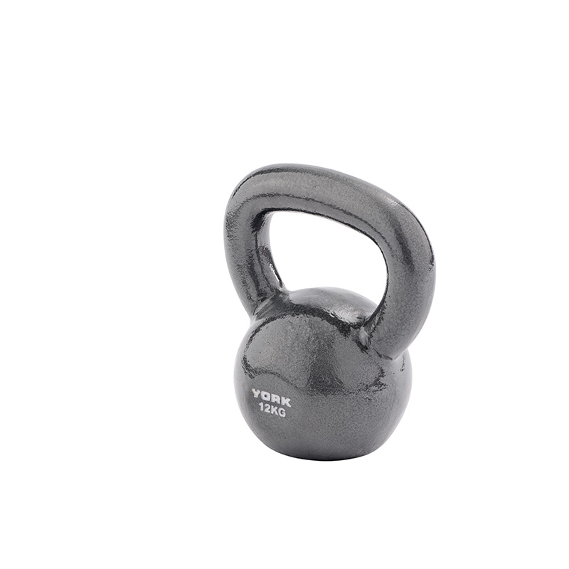 York 12kg Cast Kettlebell (Steel Handle) *CLICK HERE*