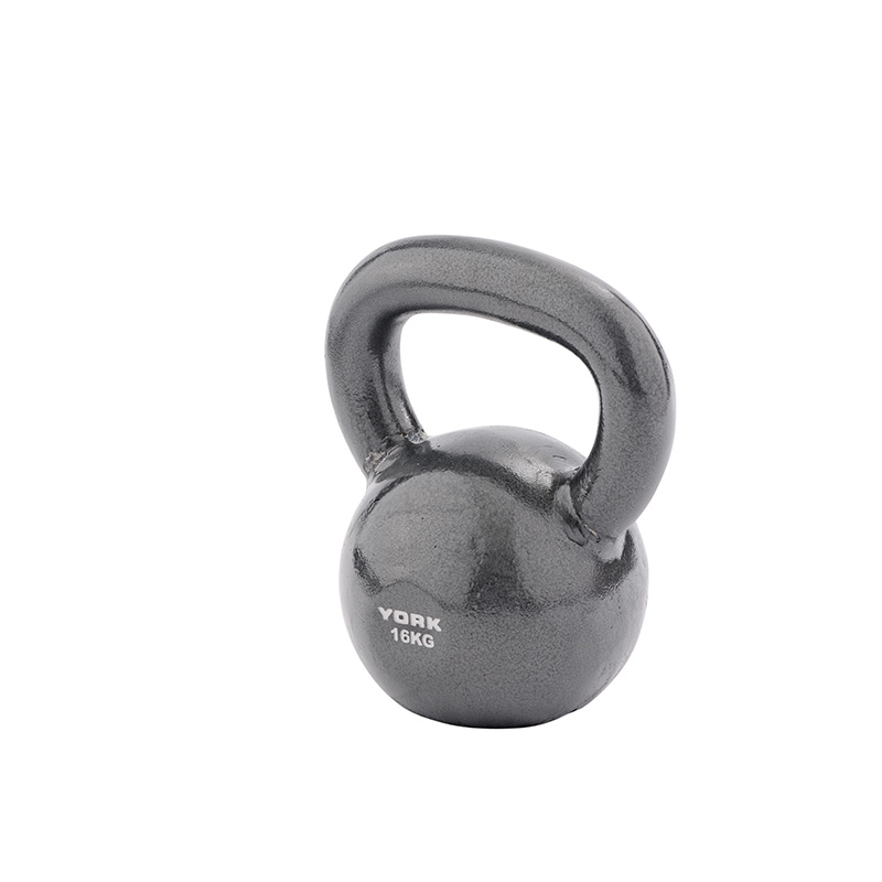 York 16kg Cast Kettlebell (Steel Handle) *CLICK HERE*