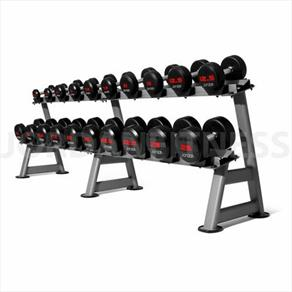 Jordan Urethane Dumbbell Sets 52.5kg-62.5kg (2.5kg increments/ 5 pairs)