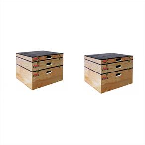 "York STS Stackable Plyometric Box Double Set (2 x 3"", 2 x 6"", 2 x 12"")  *CLICK HERE*"